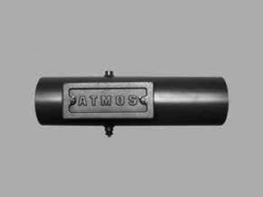 HAAS+SOHN Energiespar-Zugregler Ø150mm aus pulverbeschichtetem Stahlblech