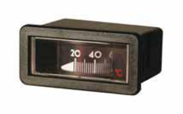 Trommelthermometer 58x25mm - 0-120°C - 1500mm Kapillare